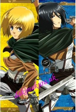 Attack on Titan Japanese anime body pillow anime hugging pillow case
