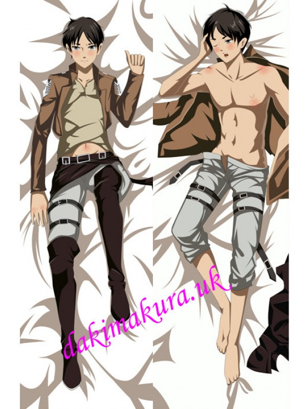 Attack on Titan Male Anime Dakimakura Japanese Pillow Cover