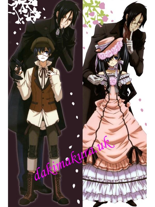 Black Butler Anime Dakimakura Japanese Hugging Body PillowCase