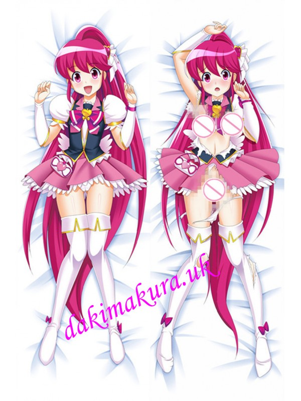 Happiness Charge PreCure Anime Dakimakura Japanese Love Body Pillow Cover
