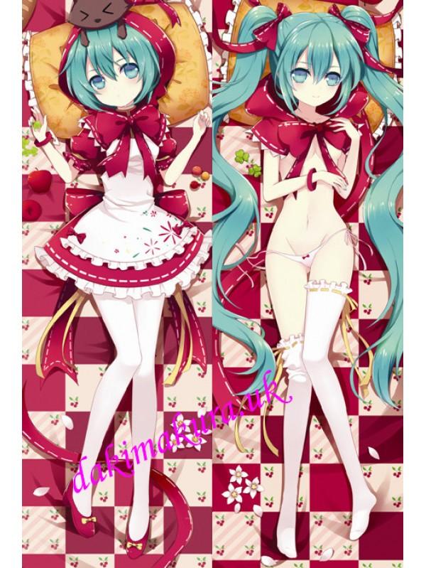 Little Red Hood Hatsune Miku Anime Dakimakura Japanese Special Edition Pillow Cover