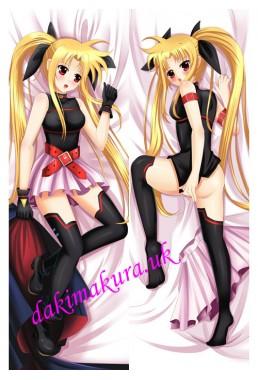 Magical girl lyrical Nanoh Nanoha Takamachi Anime Dakimakura Japanese Pillow Cover
