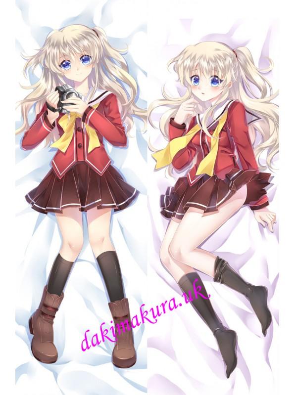Charlotte Anime Dakimakura Japanese Hugging Body Pillow Cover