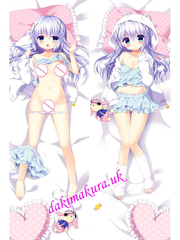 Chino Kafuu - Is the Order Rabbit Anime Dakimakura Japanese Hugging Body Pillow Cover