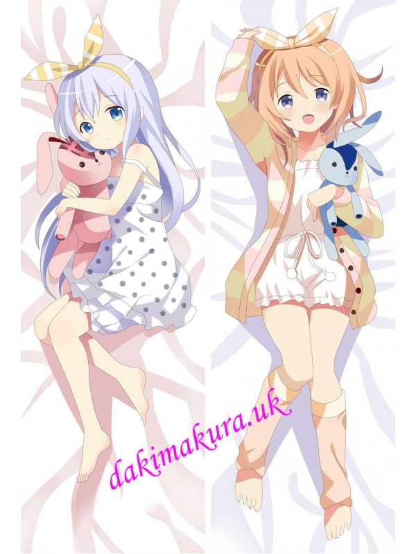 Is The Order Rabbit Gochuumon wa Usagi desu ka Anime Dakimakura Japanese Hugging Body Pillow Cover