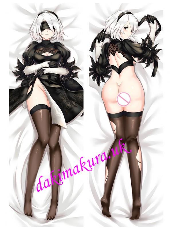 2B-Nier Automata Japanese anime body pillow anime hugging pillow case