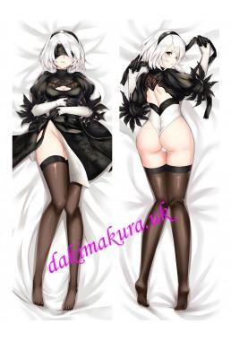 2B-Nier Automata Anime Dakimakura Japanese Hugging Body Pillow Cover