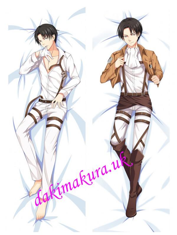Levi Ackerman - Attack on Titan Male Anime Dakimakura Outlet Hugging Body Pillow Covers