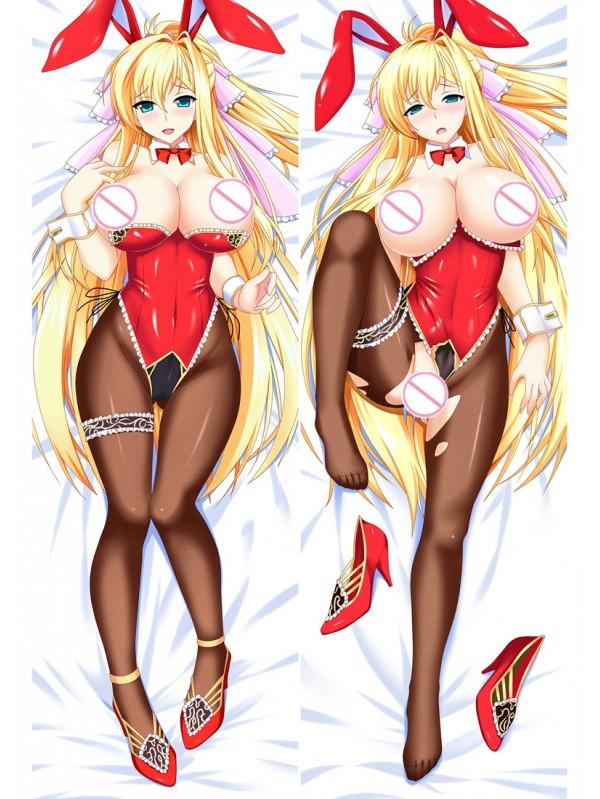 Blonde licking girl New arrival body dakimakura pillowcases