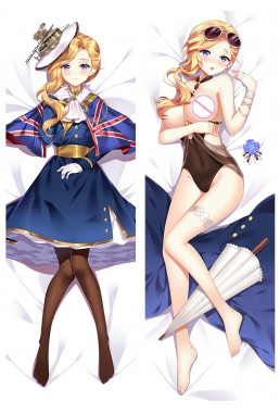 Azur Lane Anime body dakimakura japenese love pillow cover