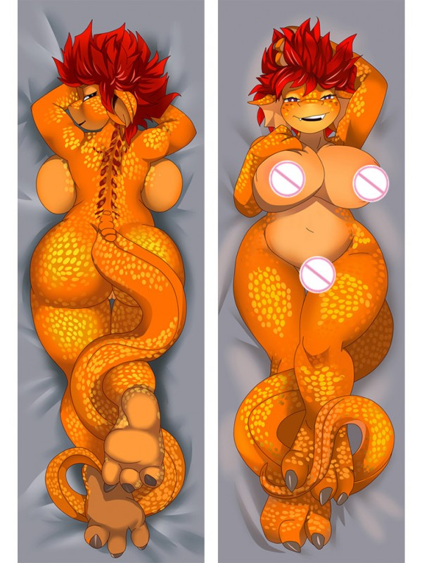 Furry - dakisample Body hug dakimakura girlfriend body pillow cover