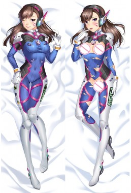 D.VA - Overwatch Anime Dakimakura Japanese Hug Body PillowCases