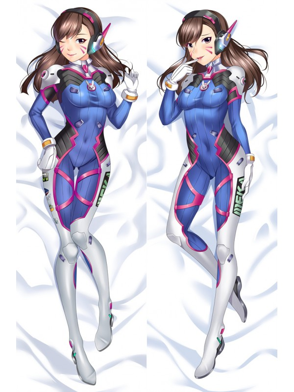 D.VA - Overwatch Anime Dakimakura Japanese Love Body PillowCases