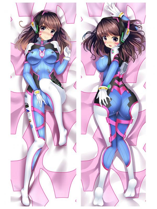 D.VA - Overwatch Anime Dakimakura Japanese Love Body Pillow Cover