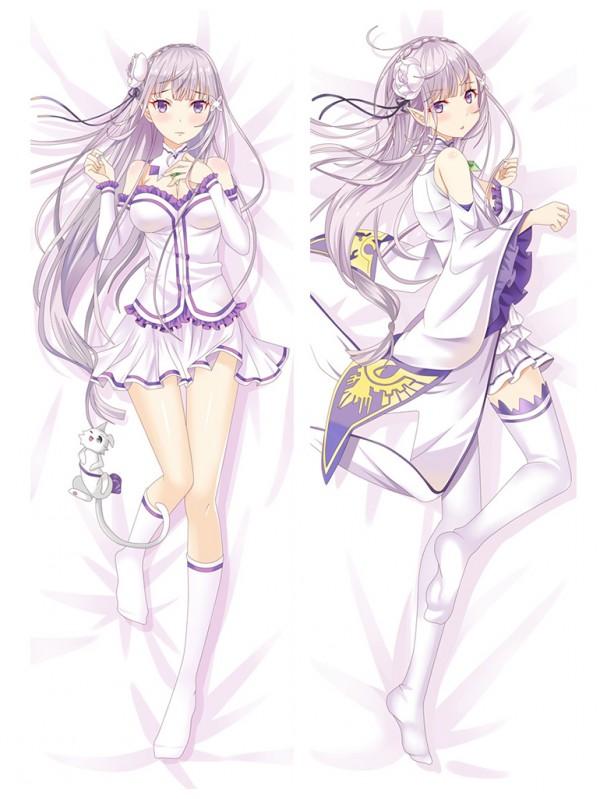 Emilia - Re:Zero Long anime japenese love pillow cover