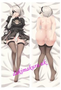 2B - Nier Automata Anime Dakimakura Japanese Hugging Body Pillow Cover