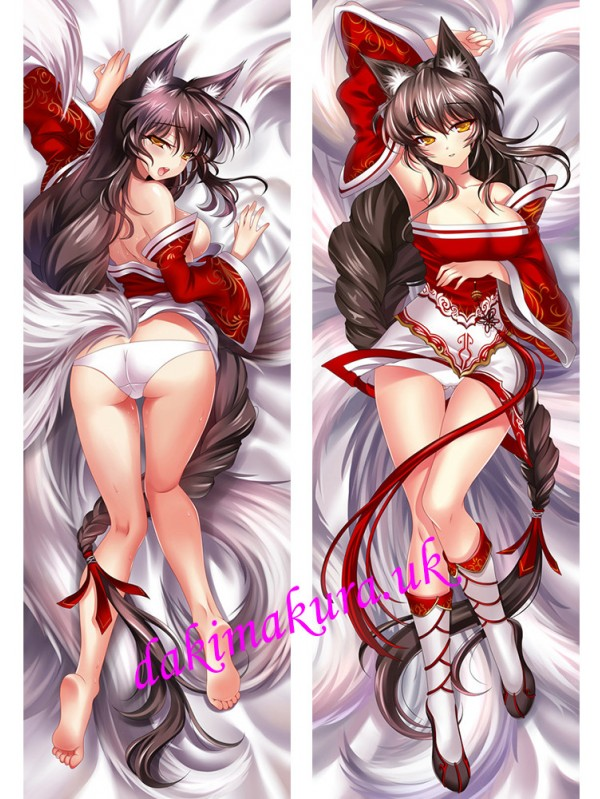 Ahri - League of Legends Anime Dakimakura Japanese Hugging Body Pillow Cover