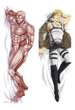 Attack on Titian Male Anime Dakimakura Japanese Hugging Body Pillow Covers
