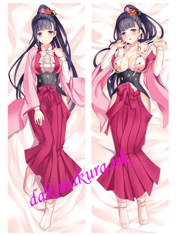 Ayame Yomogawa - Kabaneri of the Iron Fortress Anime Dakimakura Japanese Hugging Body Pillow Cover