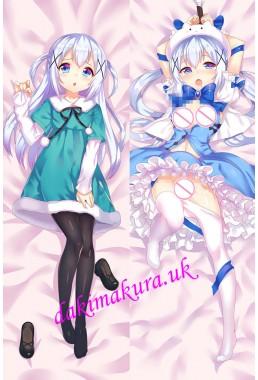 Chino Kafu - Is the Order a Rabbit Anime Dakimakura Japanese Love Body Pillow Cover