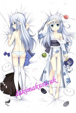 Chino Kafuu - Is the Order Rabbit Anime Dakimakura Japanese Hugging Body Pillow Cover