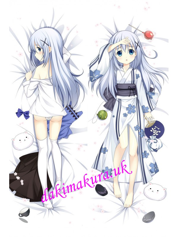 Chino Kafuu - Is the Order Rabbit Full body pillow anime waifu japanese anime pillow case