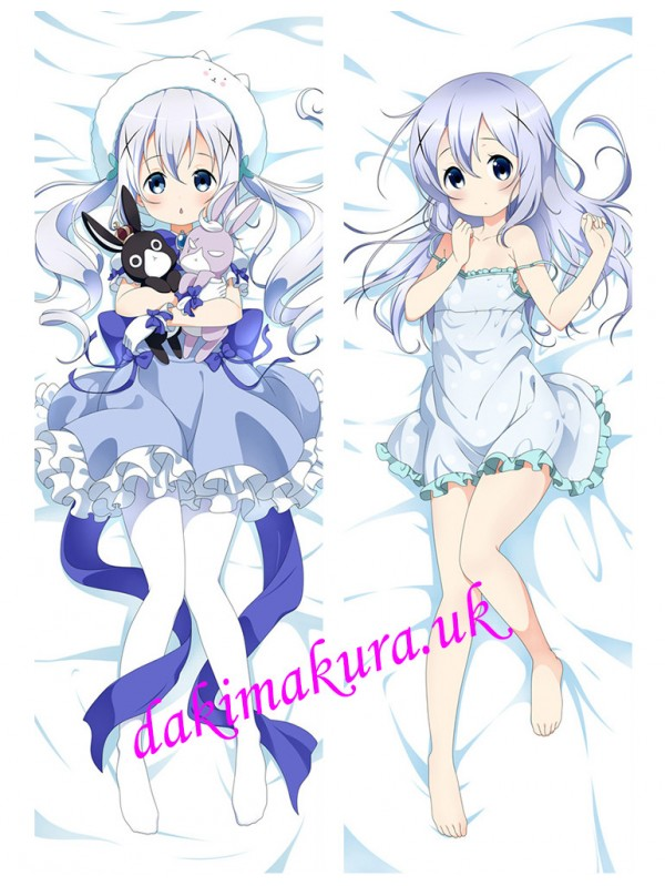 Chino Kafuu - Is the Order Rabbit Anime Dakimakura Japanese Love Body Pillow Cover