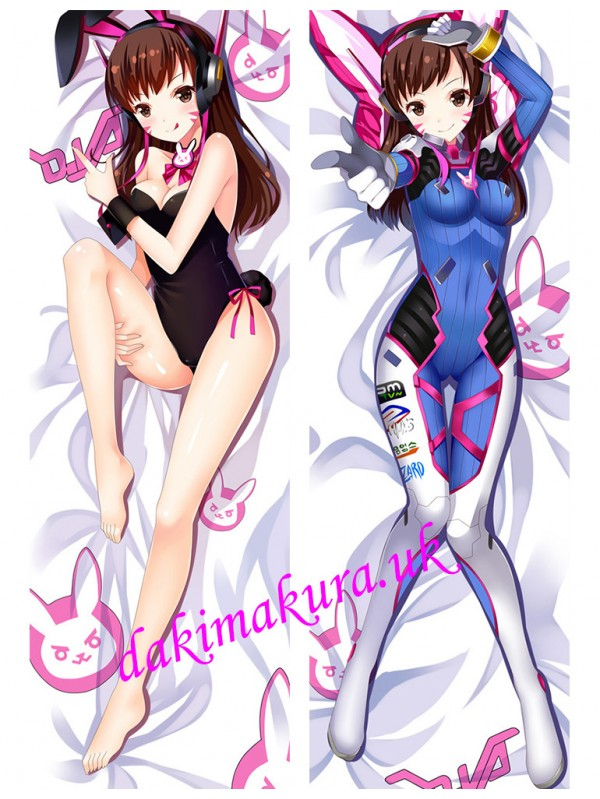 D.VA - Overwatch Anime Body Pillow Case japanese love pillows for sale