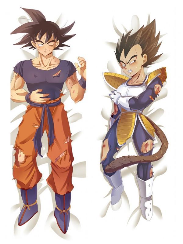 Goku and Vegeta - Dragon Ball Male Anime Dakimakura Japanese Hugging Body Pillow Covers