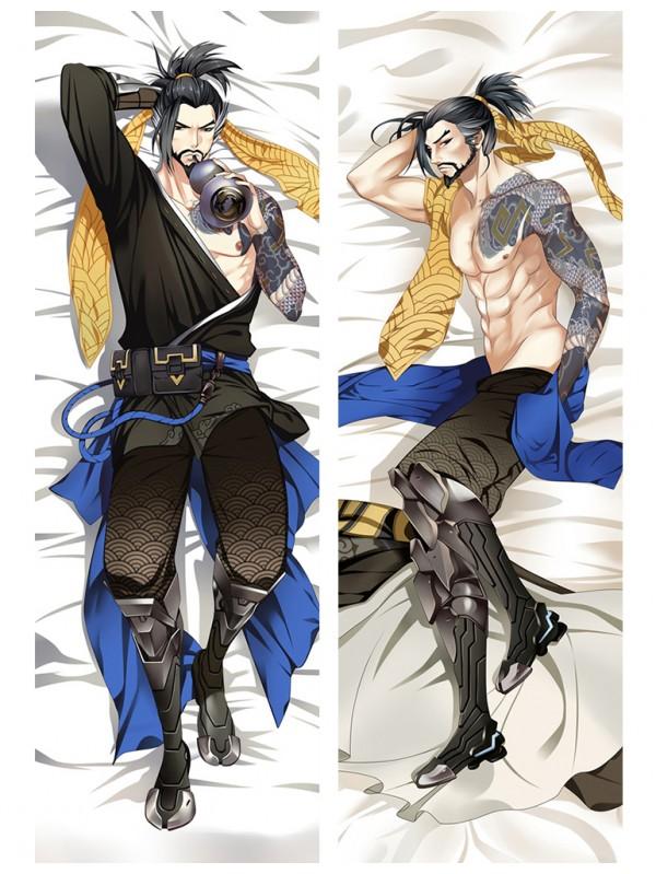 Hanzo - Overwatch Male Anime Dakimakura Store Hugging Body Pillow Cover