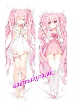Hatsune Miku - Vocaloid Anime Dakimakura Japanese Hugging Body Pillow Cover