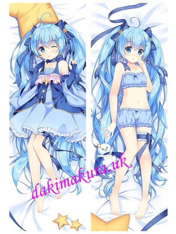Hatsune Miku - Vocaloid Anime Dakimakura Japanese Love Body Pillow Cover