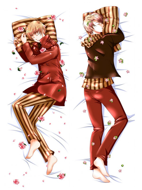 Hetalia Male Anime Dakimakura Japanese Hugging Body Pillow Covers