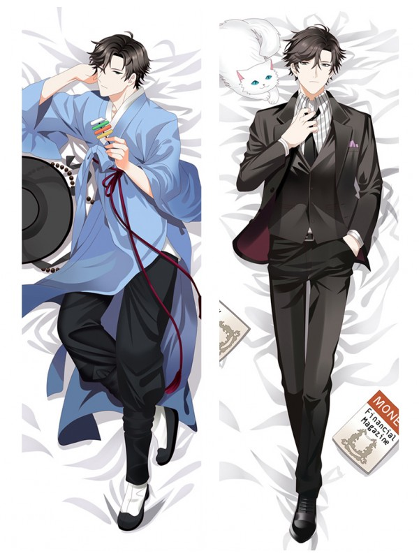 Jumin Han - Mystic Messenger Male Anime Dakimakura Japanese Hugging Body Pillow Cover