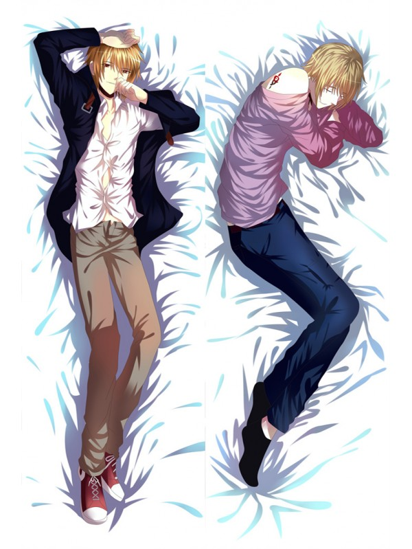 K Project Male Anime Dakimakura Japanese Hugging Body Pillow Cover