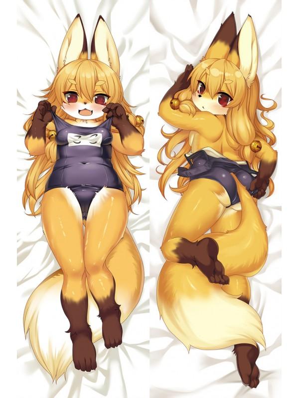 Kawaii Furry Anime Dakimakura Japanese Hugging Body PillowCase