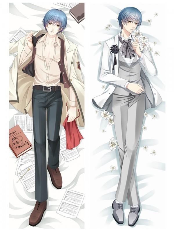 Len Tsukimori - La Corda d'Oro Anime Male Dakimakura Japanese Hugging Body Pillow Cover