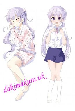Suzukaze Aoba - New Game Long pillow anime japenese love pillow cover