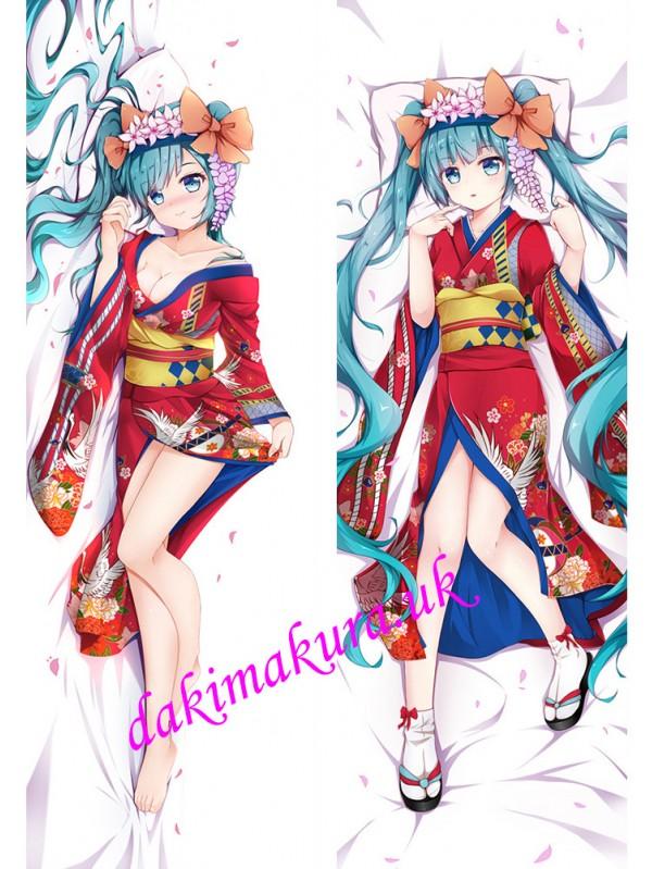 Hatsune Miku - Vocaloid Anime Dakimakura Discount Hugging Body Pillow Cover