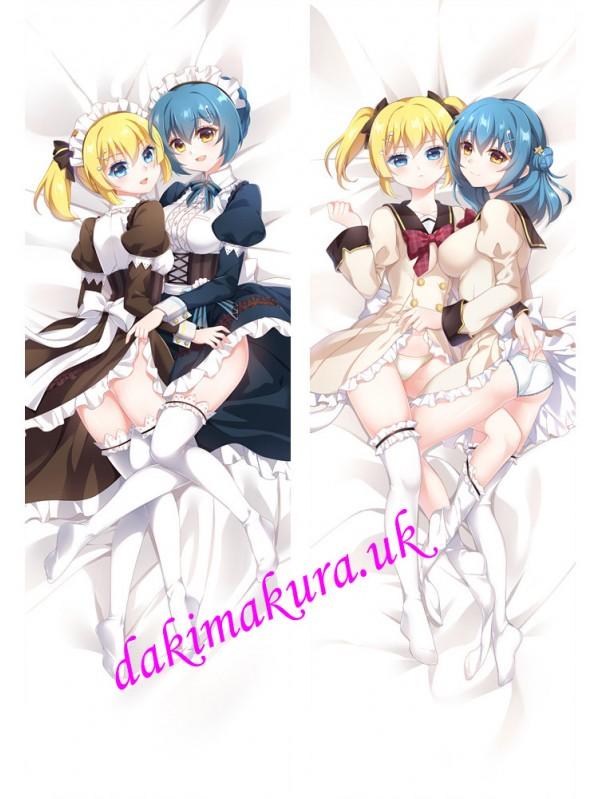 Kougami Kanon and Kunieda Shiho - Battle Girl High School Anime Dakimakura Hugging Body Pillow Cover
